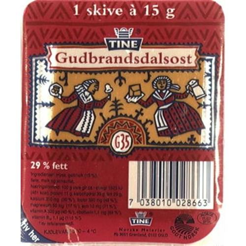 GUDBRANDSDALSOST KUV.200X15G G35 TINE