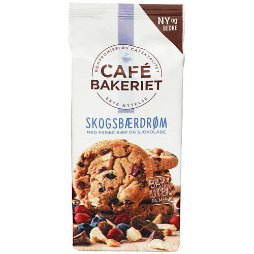 CAFÉ BAKERIET SKOGSBÆRDRØM 200GX12PK