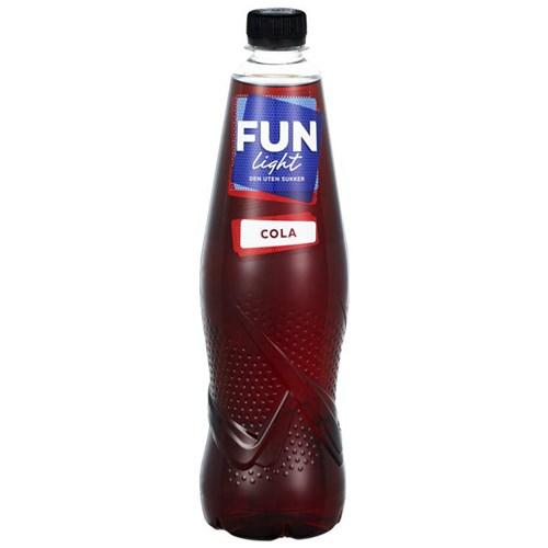 FUN LIGHT COLA 0,8LX6FL