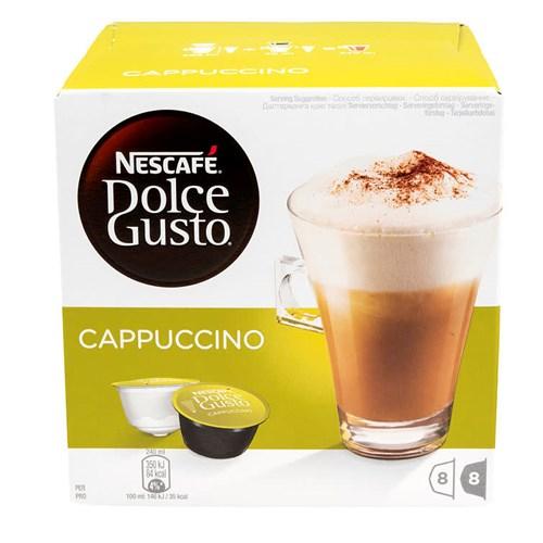 DOLCE GUSTO CAPPUCCINO 16 KAPSLERX3PK