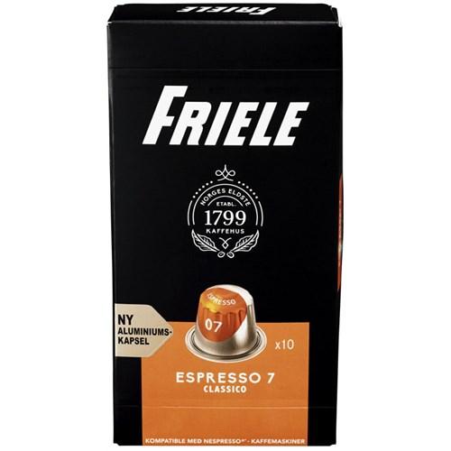 FRIELE KAFFEKAPSEL ESPRESSO 7 10STK