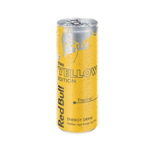 RED BULL YELLOW EDITION 250MLX24BX