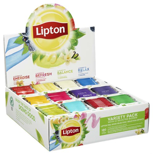 TE LIPTON DISPLAYBOKS ASS. 180POS