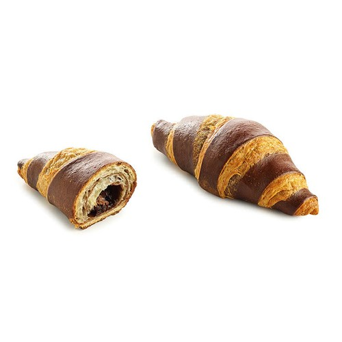 CROISSANT MINI DOUBLE COLOR CHOCOLATE 45GX36STK K.G