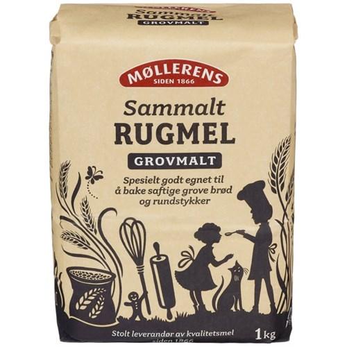 RUGMEL SAMMALT GROV 1KGX10STK MØLLERENS