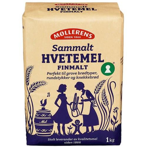 HVETEMEL SAMMALT FIN 1KGX10 MØLLERENS