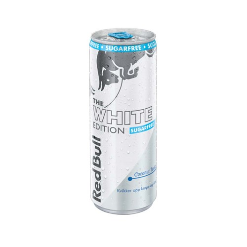 RED BULL THE WHITE EDITION COCONUT TWIST 250MLX12STK