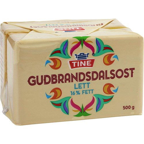 GUDBRANDSDALSOST BG20 LETTERE 500GX10STK TINE