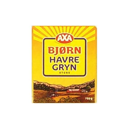 HAVREGRYN STORE 1,1KGX12PK BJØRN