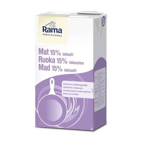 MAT 15% LAKTOSEFRI 1LX8STK RAMA