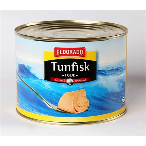 TUNFISK I OLJE 1880GX6STK ELDORADO