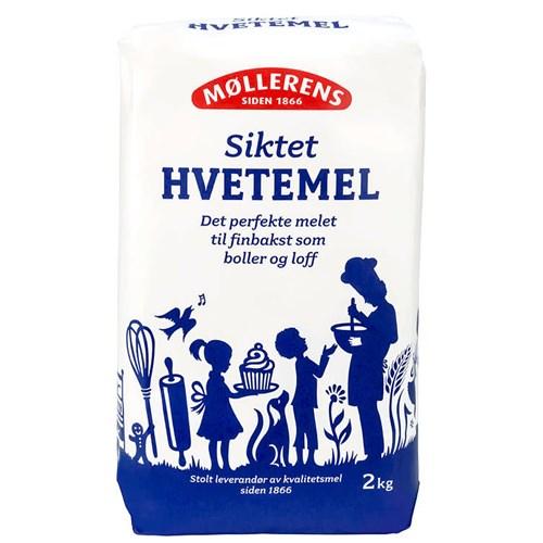 HVETEMEL SIKTET 2KGX4POS  MØLLERENS