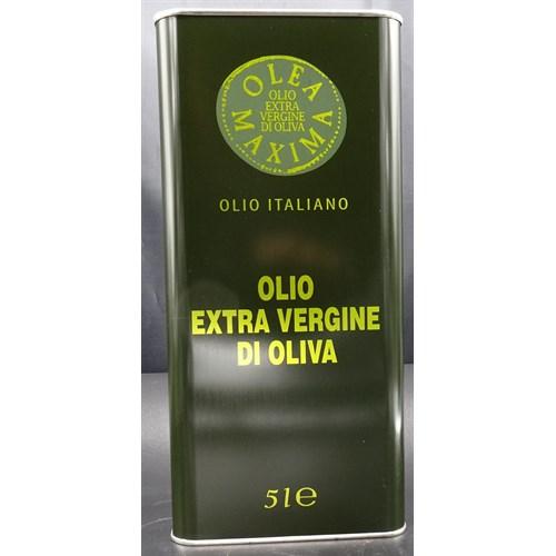OLIVENOLJE EXV. 100% ITALIENSK 5LX2STK EXV MAXIMA DAC