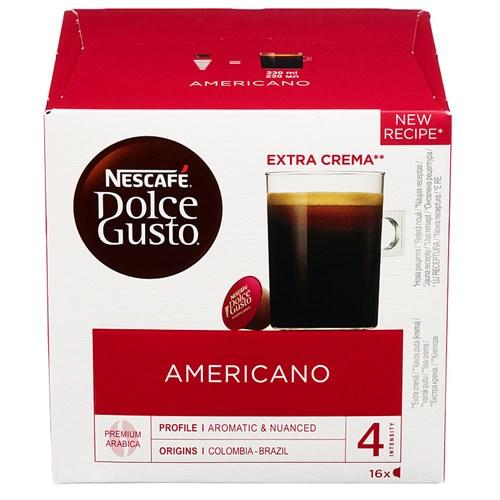 CAFFE AMERICANO 16KAPSLERX3PK DOLCE GUSTO