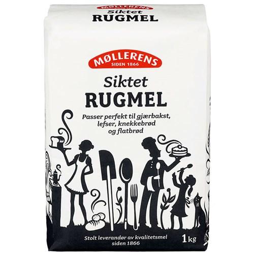 RUGMEL SIKTET 1KGX10 MØLLERENS