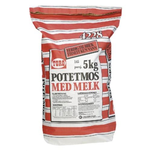 POTETMOS M/MELK 5 KG TORO