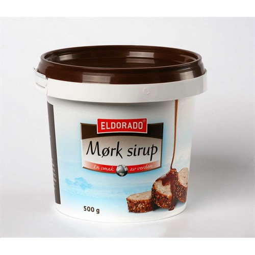 SIRUP MØRK 500GX8STK ELDORADO