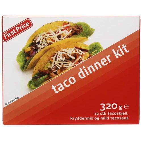 TACO DINNER KIT 320G FIRST PRICE