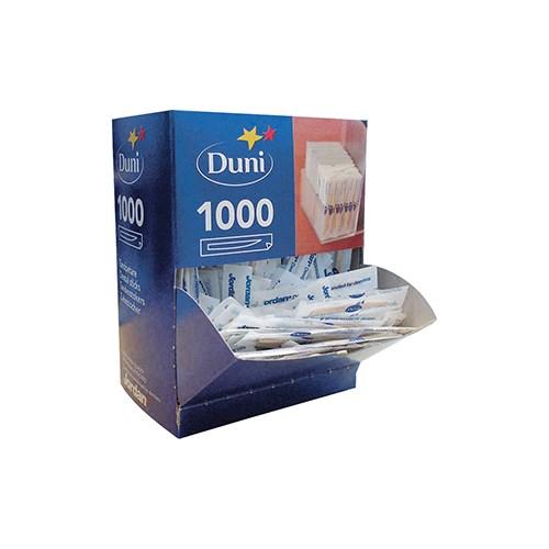 TANNSTIKKERE ENKELTPAKKET 1000STKX6PK DUNI AB
